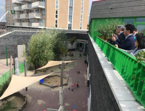 Japanse delegatie bezoekt vestiging in Rijswijk