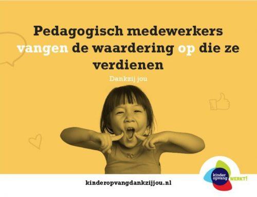 17 september: De Dag van de Pedagogisch Medewerker!